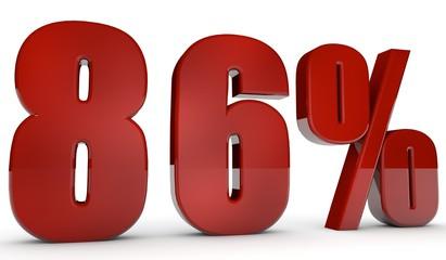 percent,86