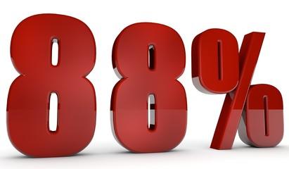 percent,88