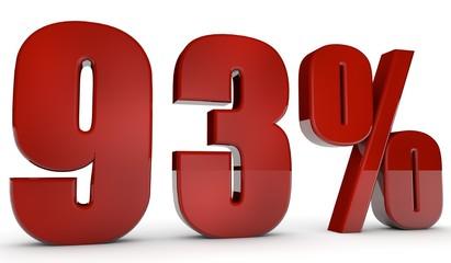 percent,93