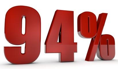 percent,94