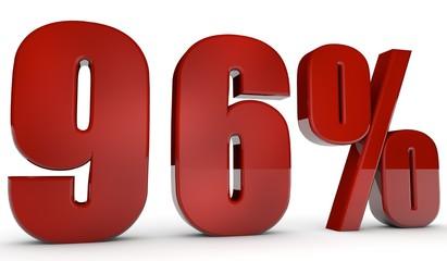 percent,96