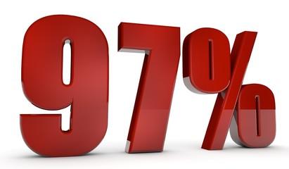 percent,97