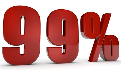 percent,99