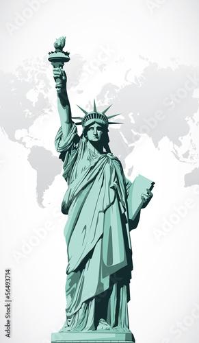 Wektor statua wolności