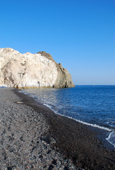 Mesa Pigadia beach in Santorini Island (Greece)