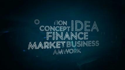 Success Finance background text