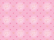 seamless pattern with valentines and gender symbols
