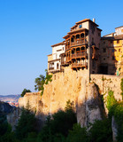 Hanging Houses on rocks in Cuenca