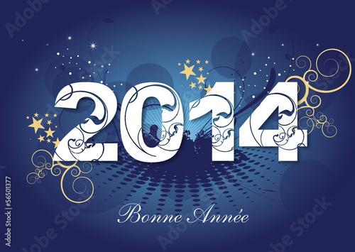 2014 - Carte de voeux - Bonne année