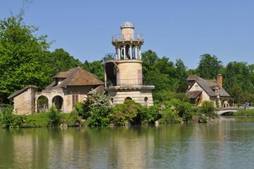 Hameau de la reine, château de Versailles : tour de marlborough