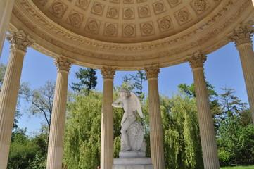 Temple de l'Amour dans le jardin anglais, château de Versailles