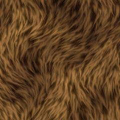 Stunning Brown Fur Textured Background