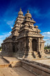 Shore temple - World  heritage site in  Mahabalipuram, Tamil Nad