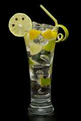 refreshing gin tonic