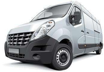 French medium-size van