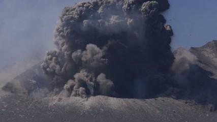 Sakurajima Eruption
