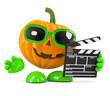 Pumpkin makes a movie