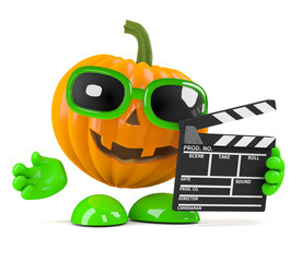 Pumpkin makes a movie