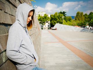 lonely sad girl