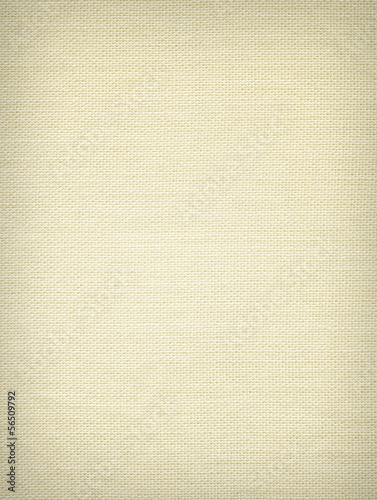 Woven yellow fabric texture
