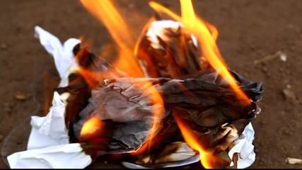 Man burned paper episode 3