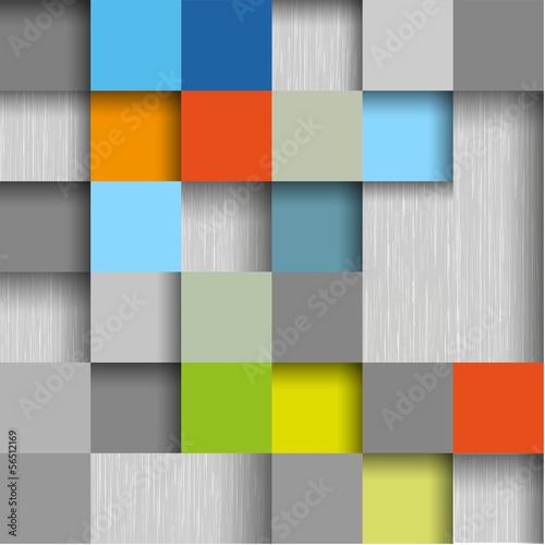 colored square design