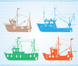 Fishing boats - 56512364
