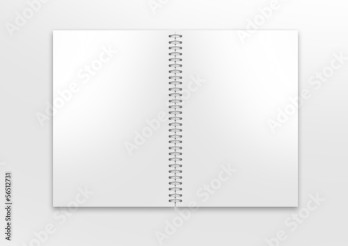 canvas print picture mockup ringbuch