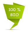 Zettel gefaltet - 100% bio