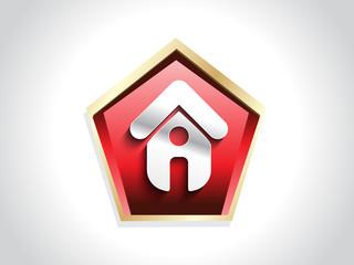 home icon button