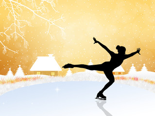 Skating on ice