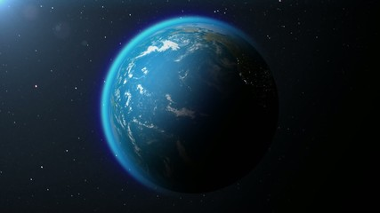 Earth – alternation of day and night
