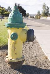 Fire hydrant, USA