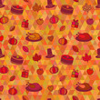 Thanksgiving Day Seamless Pattern