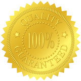 Quality Guaranteed Gold Seal