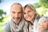 Fototapety Portrait of loving senior couple