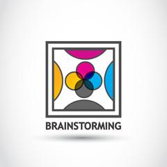 Brainstorming creativity group