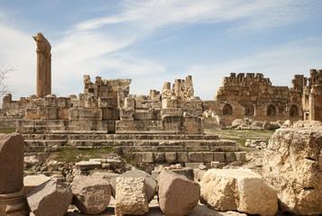 Ruins in Baalbek, Lebanon