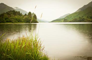 Loch shiel in scotland