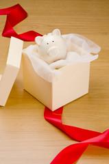 Gift piggy bank
