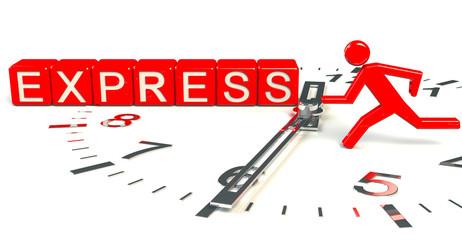 Express Uhrzeit