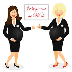 Pregnant at work 5
