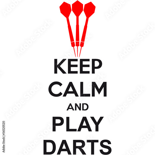 poster of Keep Calm And Play Darts