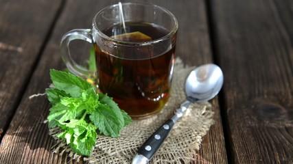Fresh made Mint Tea