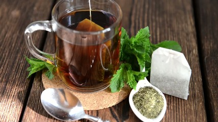Fresh made Mint Tea