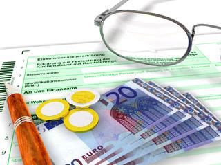 Steuererklärung zwanzig Euro