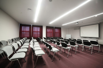 big and spacious conference room