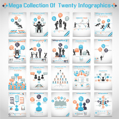 MEGA COLLECTIONS OF TEN  BUSINESS ICON MAN  BANNER 3