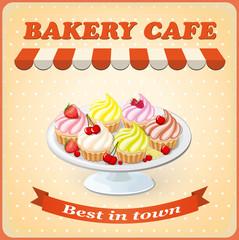 banner for cafe