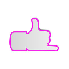 Hang loose Hand Zeichen I Like Symbol Icon